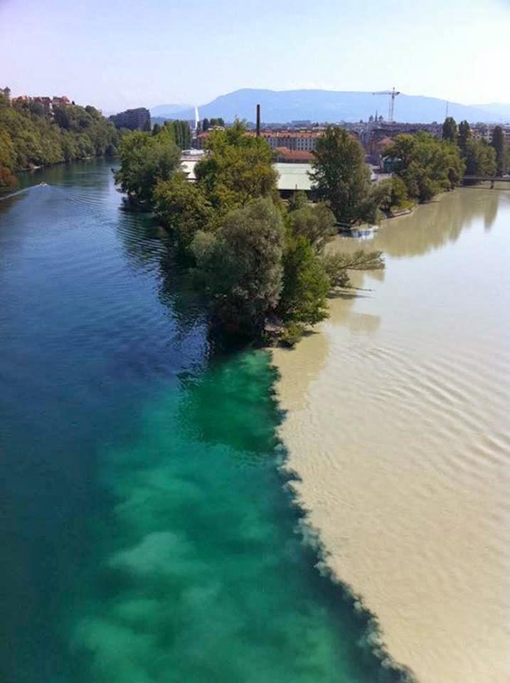 rivers, collide
