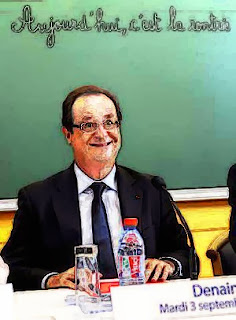Hollande cartoon