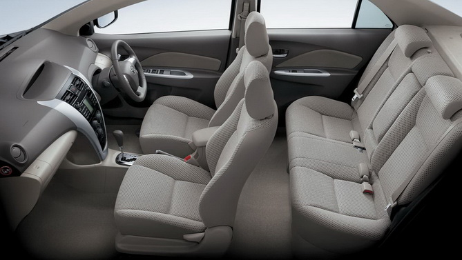 Interior Toyota New Vios 15 G Automatic