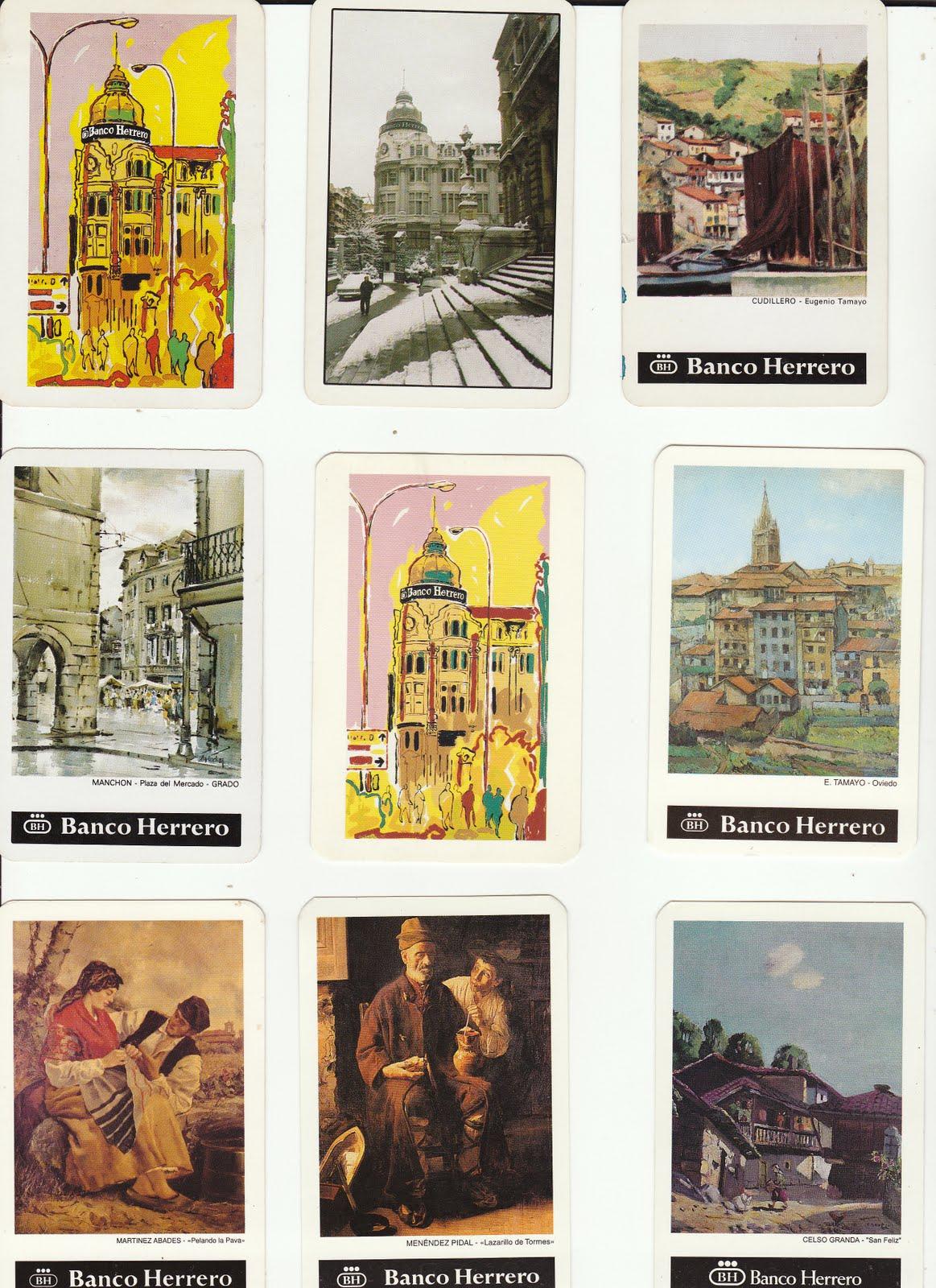 Colecciono calendarios banco herrero 1952 2011 for Oficinas banco sabadell oviedo