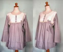 Model Baju Hamil Muslim Untuk Kerja 003