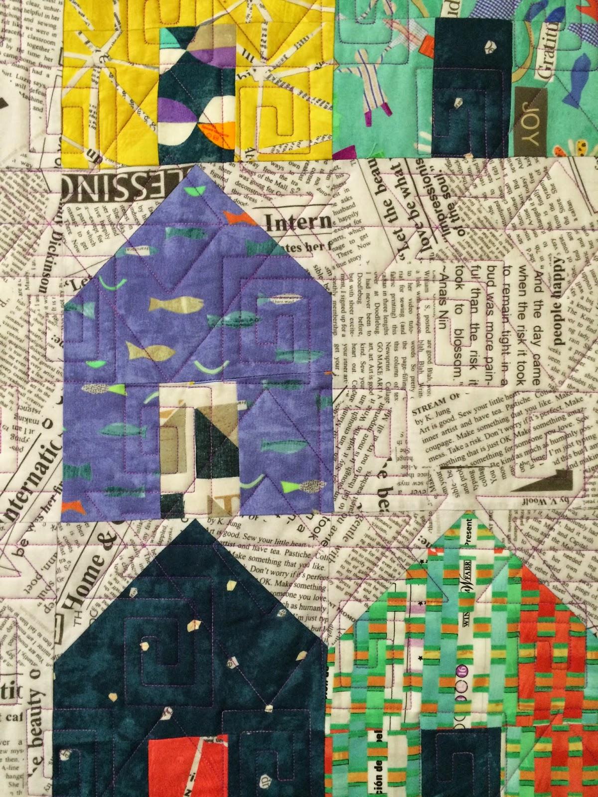 Danier Listyasari's Lots of Houses Quilt