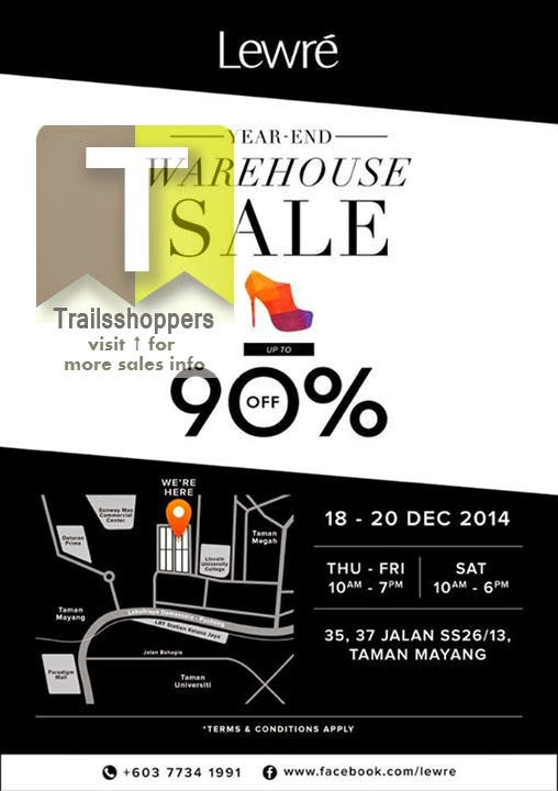 Lewre Warehouse Sale Taman Mayang