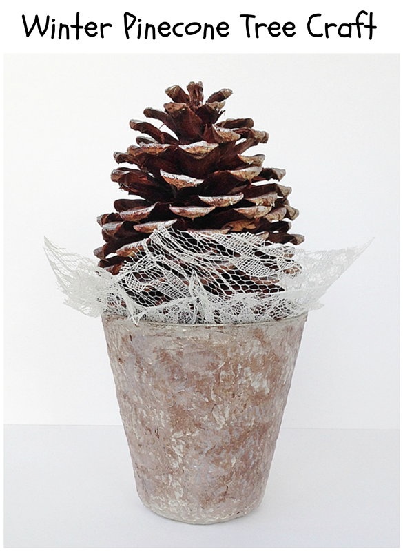 Winter Pinecone Crafts