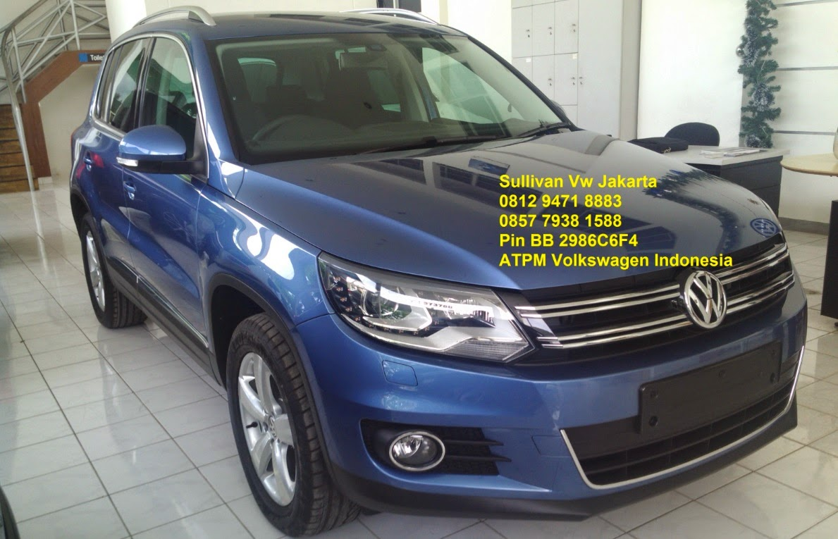 VW TIGUAN 1.4 TSI Highline CBU Warna Racing Blue