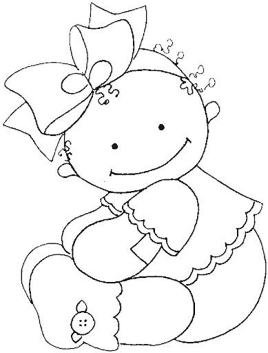 Dibujos y Plantillas para imprimir Babyshower