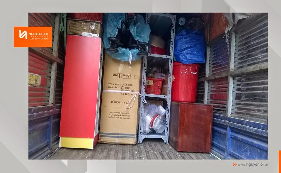 Dịch vụ chuyển nhà - Sắp xếp hàng hóa