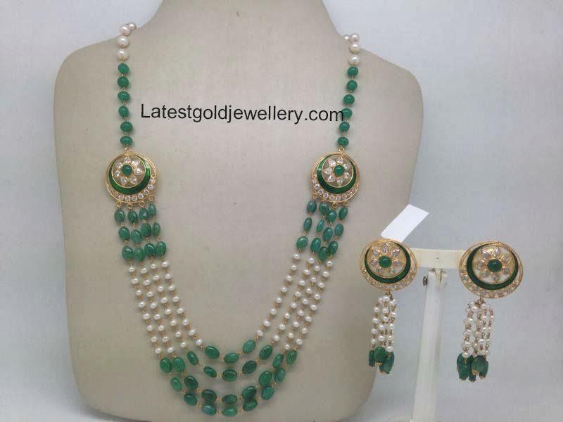 multistring emeralds mala