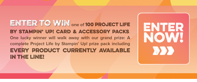 Project Life by Stampin' Up! GIVEAWAY http://bit.ly/1tvnz2d