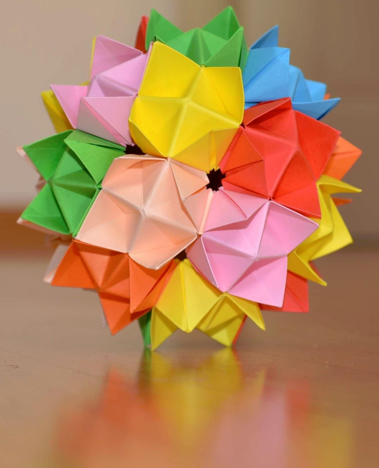 kusudama flower ball instructions