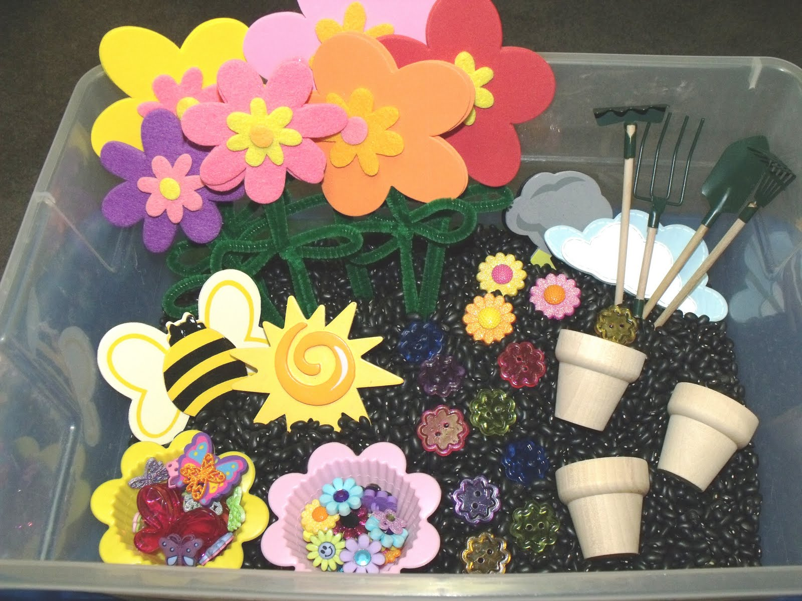 garden theme for preschool nurturing naters with learning activities at home flower 560