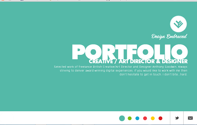 15 HTML5 Sites for inspiration