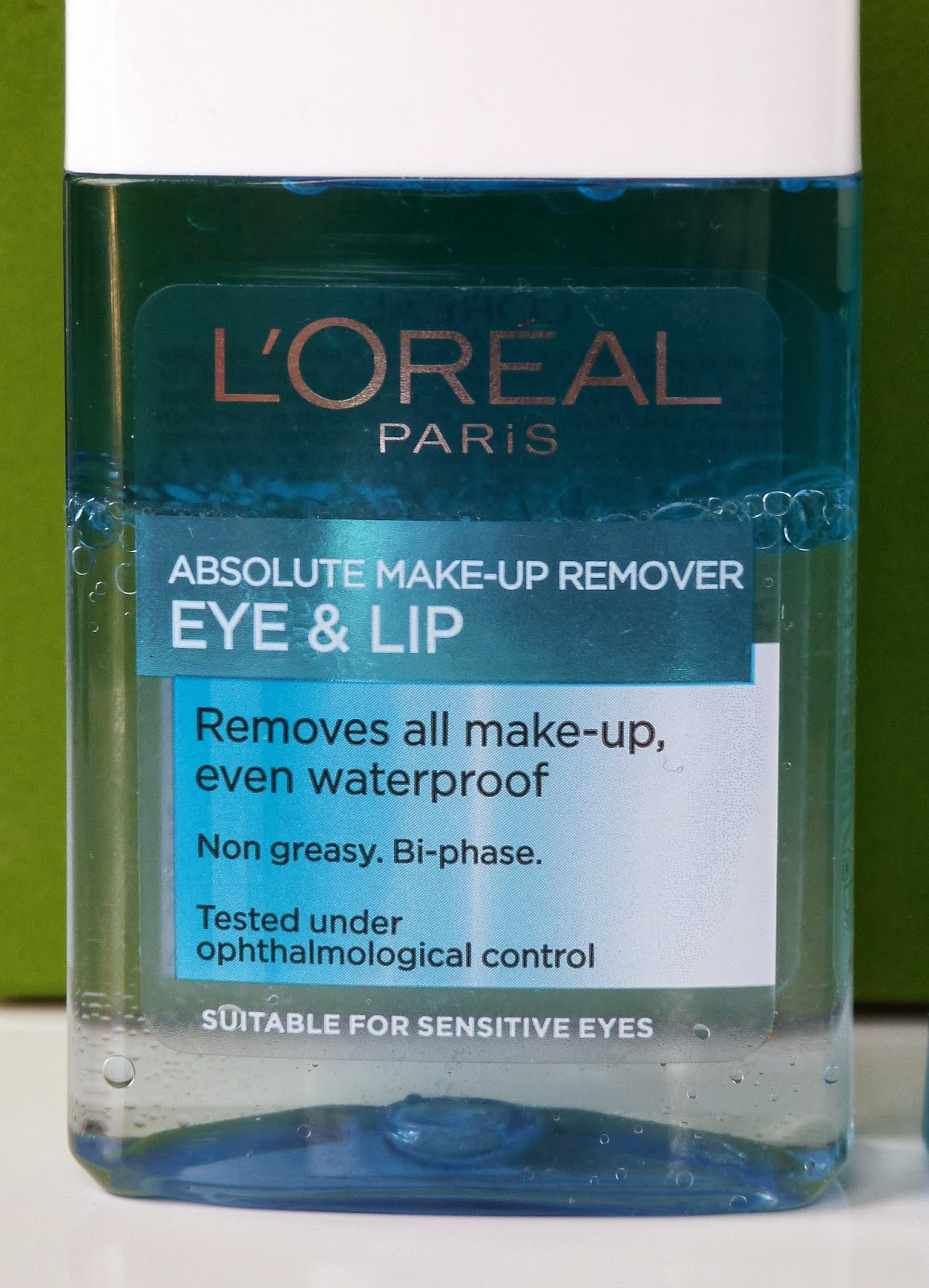 L'Oreal Paris Absolute Make-Up Remover Eye & Lip