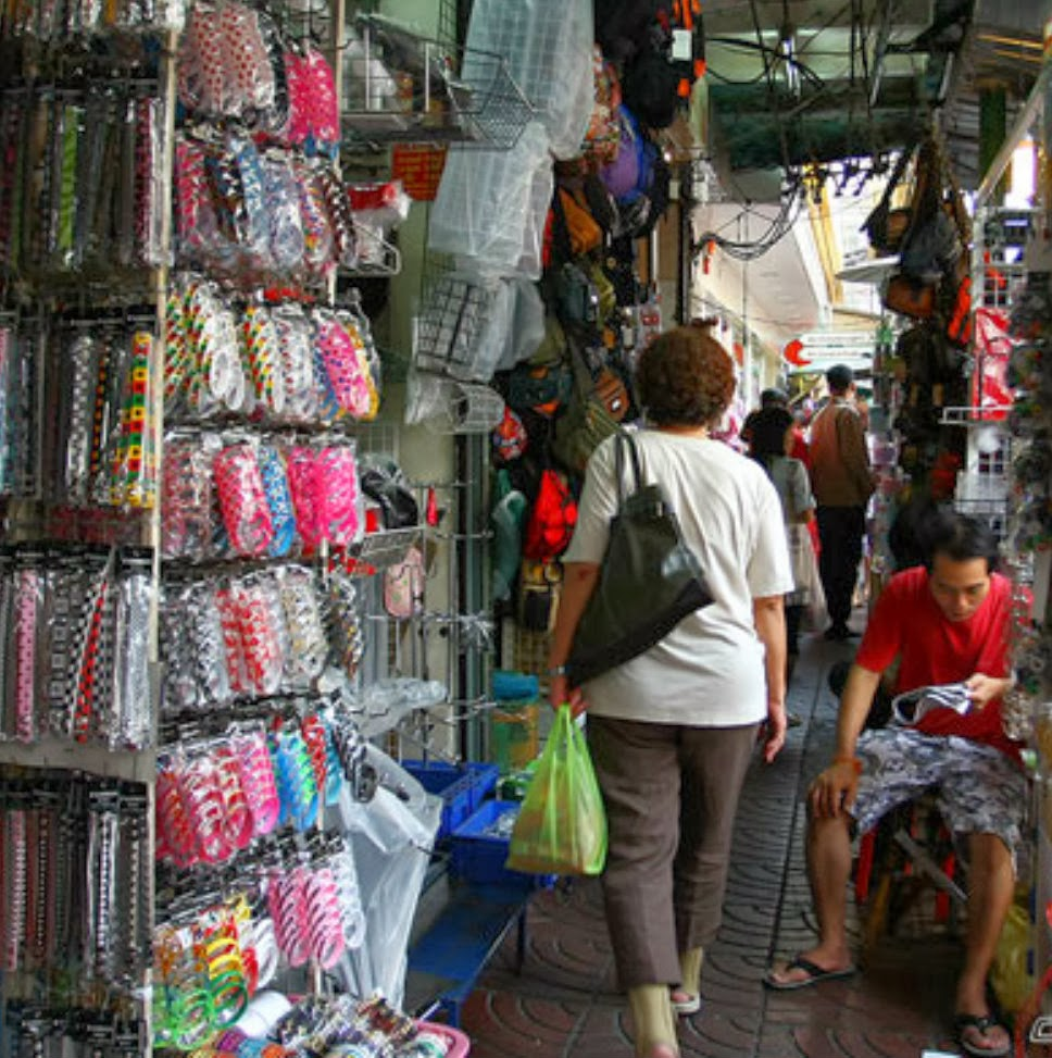 bead shop in Bangkok