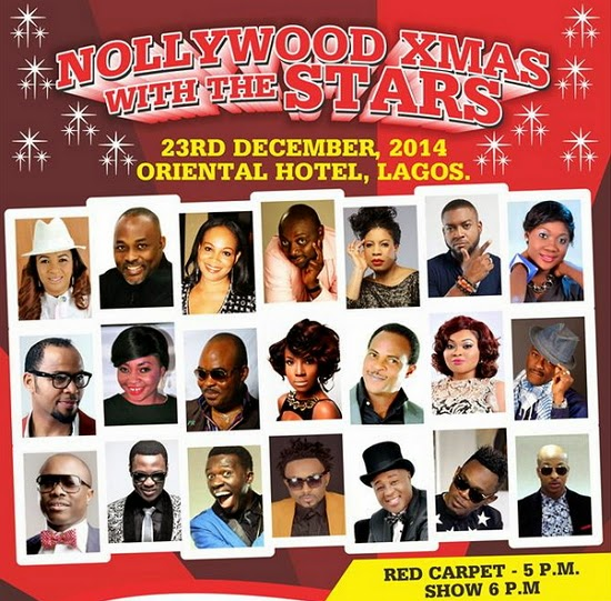 nollywood xmas with the stars