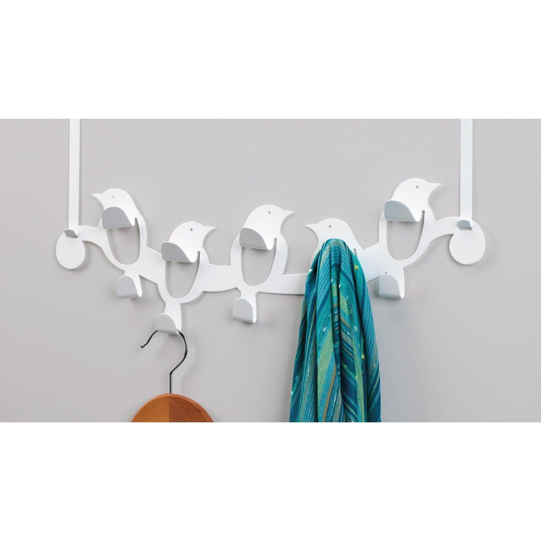A whimsical over-the-door hook solution - Umbra Birdseye Multi-Hook (