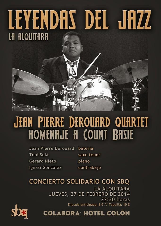 27/Febrero: Concierto Leyendas del Jazz. Béjar