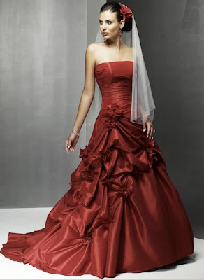 red wedding dresses06