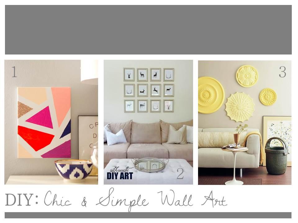Clothesline xo diy wall art - Fun painting ideas for walls ...