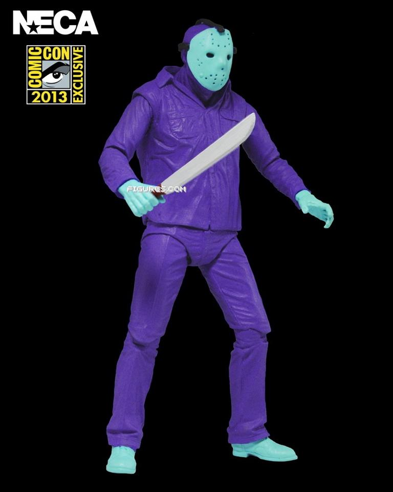 "First Look of NECA's ""Friday the 13th"" Jason Voorhees 2013 Comic-Con  Exclusive. """