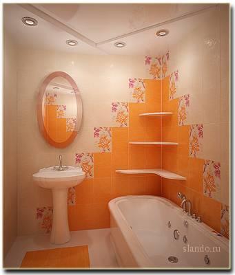 Обои своими руками ванной комнаты фото 971