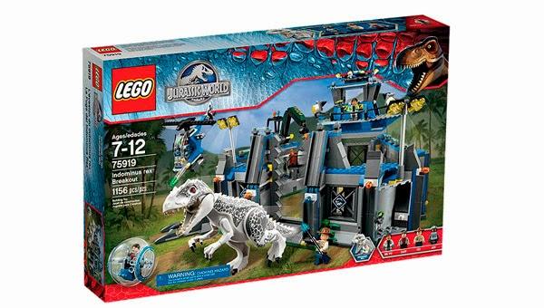 LEGO Ref. 75919 La Fuga del Indominus Rex