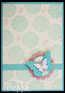 Charming Card Making Class, Charming with Butterflies
