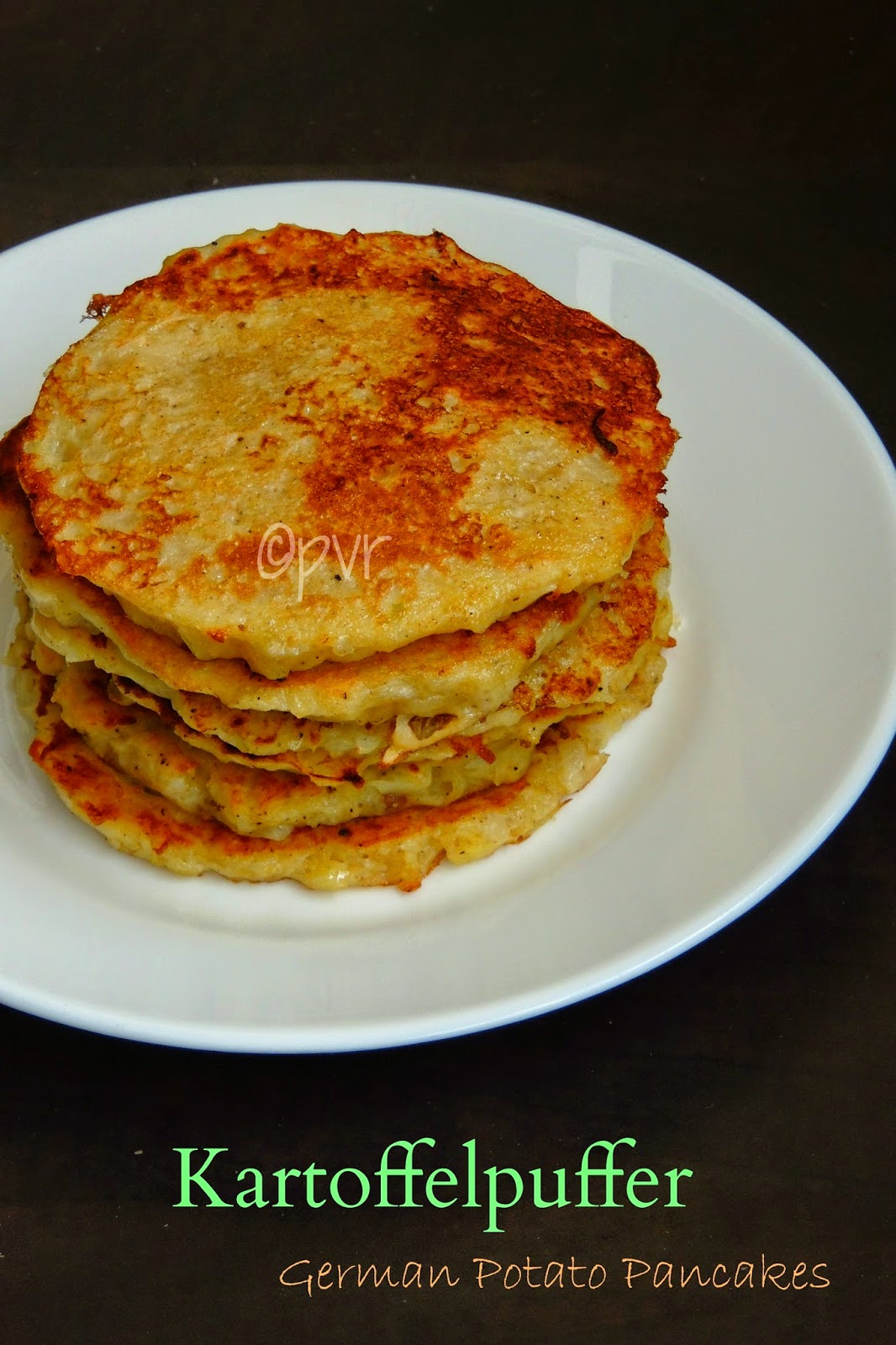 Kartoffelpuffer, Kartoffenkuche,Reibekuchen,German potato pancakes