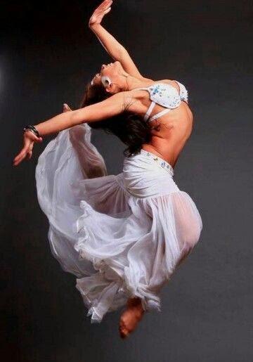 Belly Dancer Leap