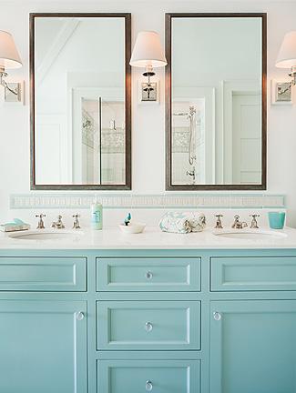 To da loos a dozen fun blue bathroom vanities - Reasonably priced bathroom vanities ...