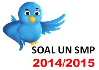 kumpulan soal un smp 2014/2015 lengkap