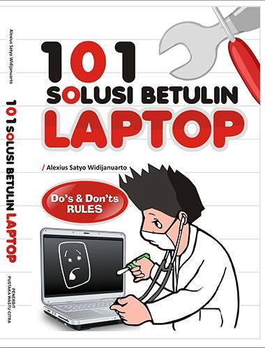 buku belajar servis laptop