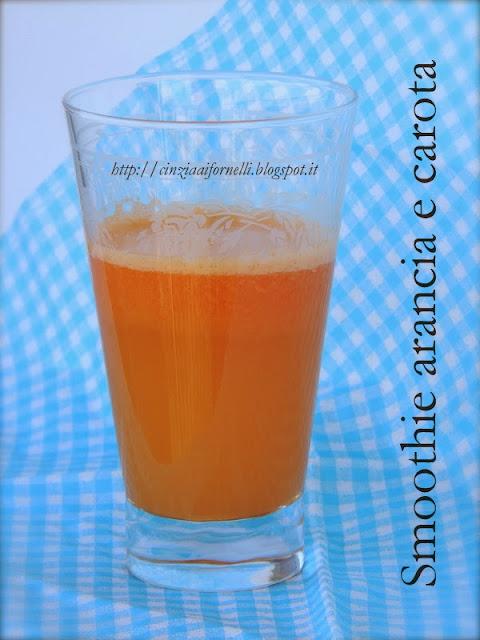 smoothie arancia e carota