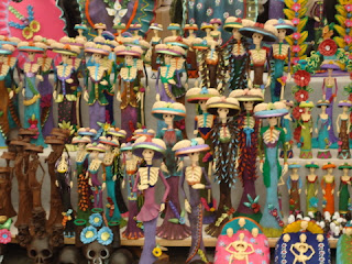 Handicrafts Market during Day of the Dead in Patzcuaro