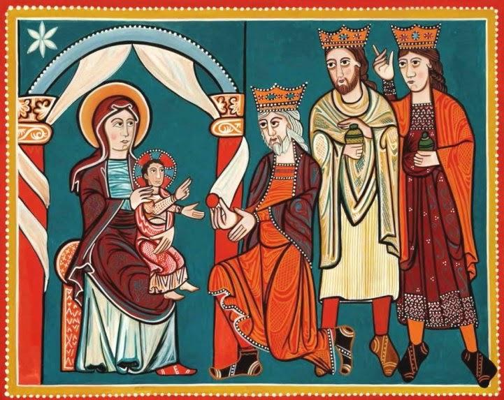 La Adoración de los Reyes, Anónimo Oscense del siglo XII