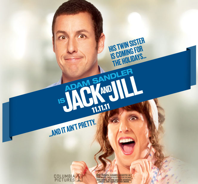 hollywood talkies jack jill movie official trailer and pictures. Black Bedroom Furniture Sets. Home Design Ideas