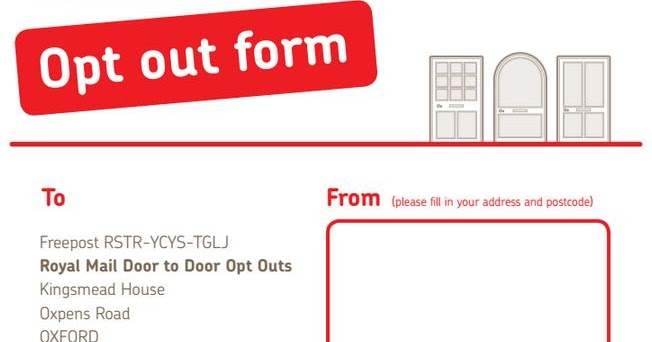 time to renew my royal mail opt out. Black Bedroom Furniture Sets. Home Design Ideas