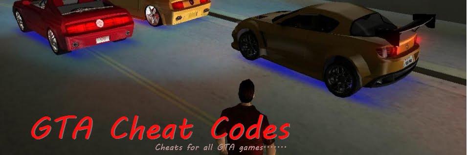 GTA Cheat Codes | GTA Cheats | GTA Vice City Cheats | GTA San Andreas Cheats | GTA Liberty