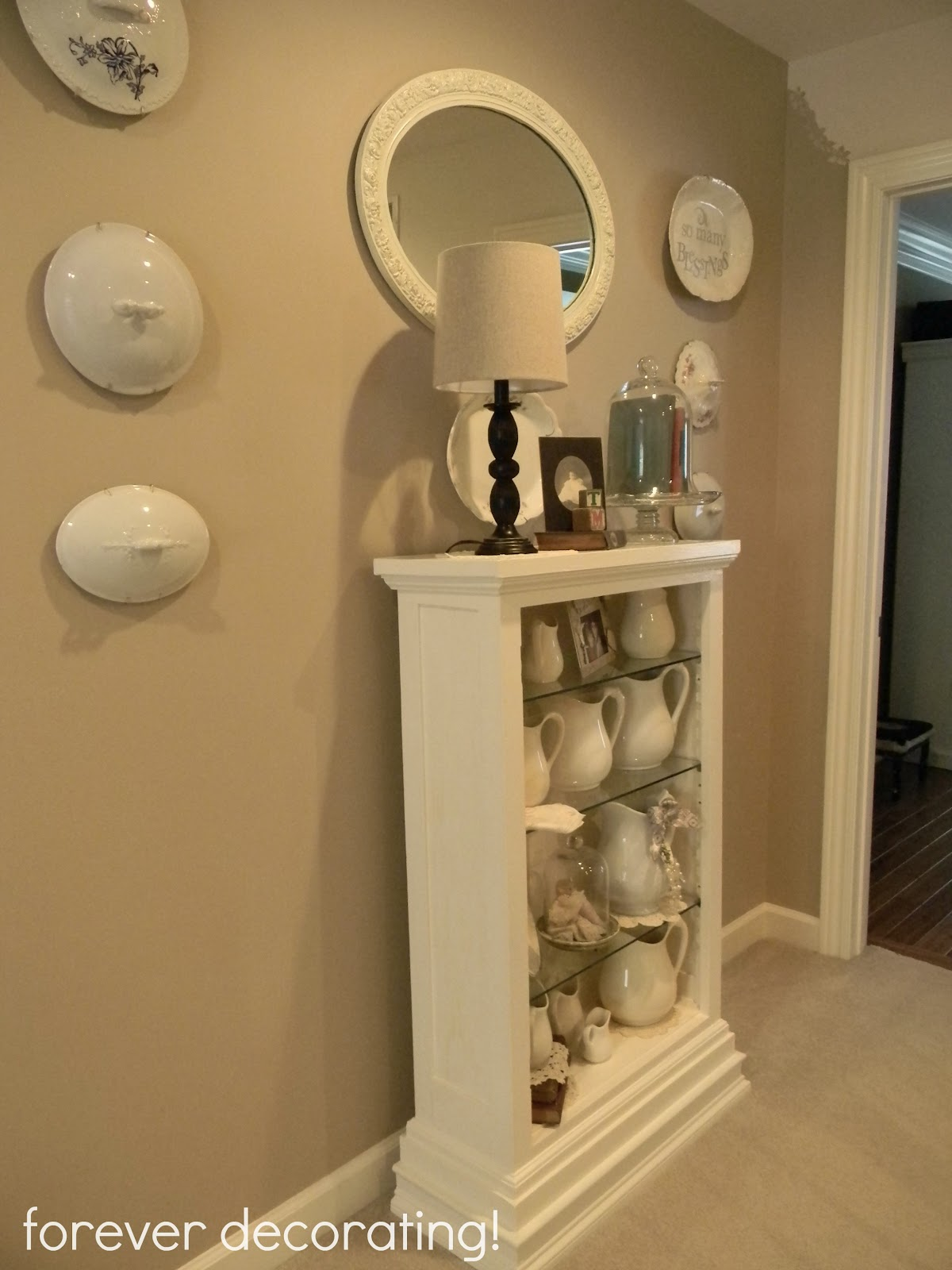 Wall Decor Around Mirror : Forever decorating mirror on the wall