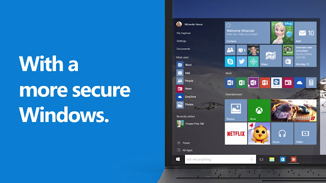 Secure windows 10