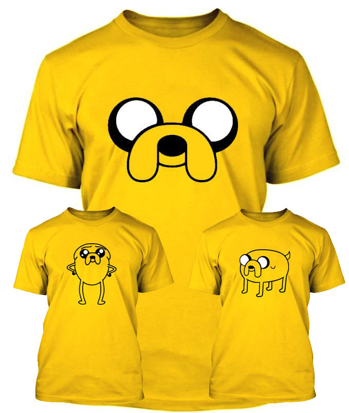 Adventure time t shirt Jake the dog