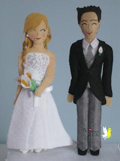 pareja-novios-fieltro-bodas-regalo-tartas-nupciales-personalizados