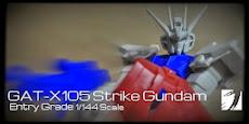 EG GAT-X105 Strike Gundam