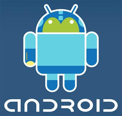 Imagen de la mascota de Android - Mega Man