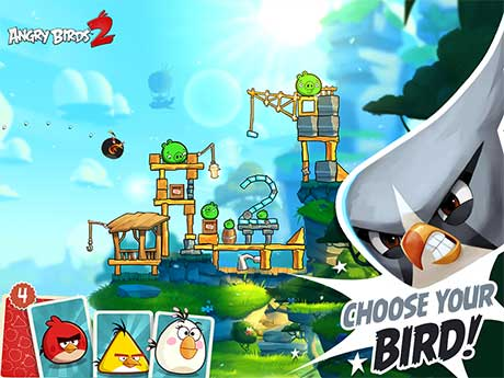 Angry Birds 2 v2.2.1 Apk + Mod