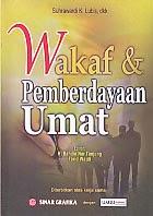 toko buku rahma: buku WAKAF DAN PEMBERDAYAAN UMAT, pengarang suhrawardi, penerbit sinar grafika