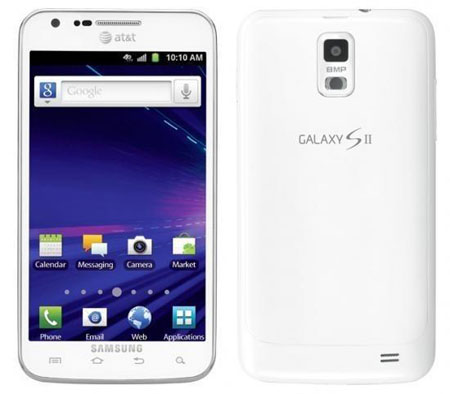 AT&T To Release White Samsung Galaxy S2 Skyrocket