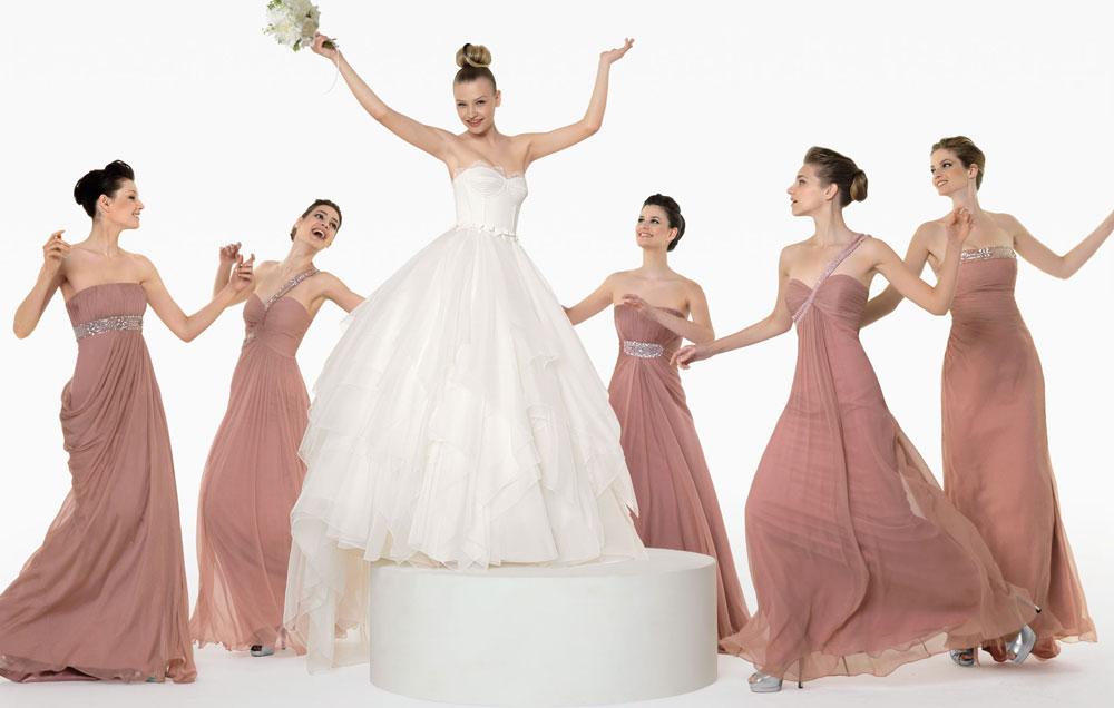 Fashion And Stylish Dresses Blog: Long Style Bridesmaid Dresses ...