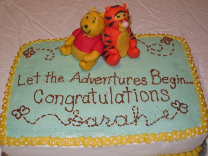 taste see cake design winnie the pooh baby shower