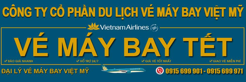 Đặt vé máy bay tết 2019 Vietnam Airlines, Vietjet, Jetstar